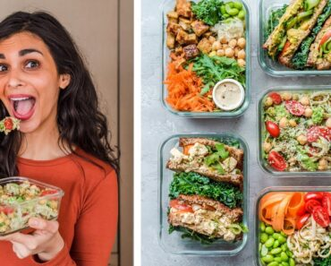 HEALTHY VEGAN LUNCHES FROM MONDAY TO FRIDAY (+ PDF guide)