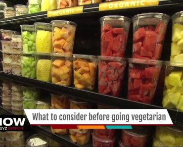 What you need to know before switching to a vegetarian