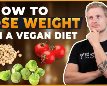 HOW TO LOSE WEIGHT ON A VEGAN DIET (WITHOUT EXERCISE)