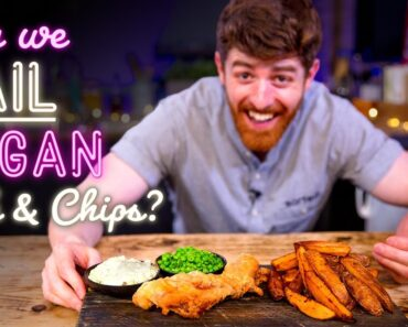"""Chefs Test VEGAN """"Fish and Chips"""""""