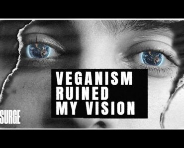 How my vision changed on a vegan diet