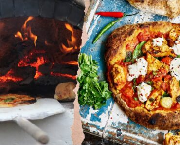 BUILD A PIZZA OVEN IN 5 MINS! + unbelievable Indian