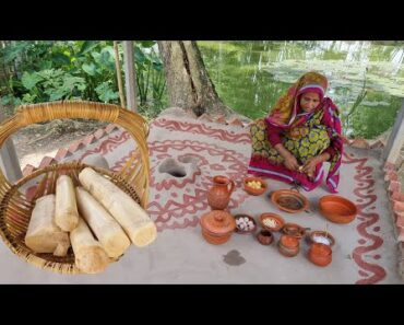 Quick & Simple Our Favorite Natural Village Food Cooking BANANA
