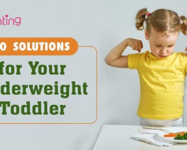 10 Tips to Help Your Toddler Gain Weight